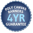 4-year poly canvas guarentee