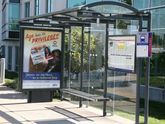 Backlit Bus Shelter Graphics