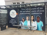 Bus Shelter Wrap