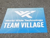 Concrete Graphic for World Wide Technology - Printing by Zane Williams