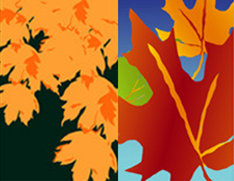 Autumn & Fall Light Pole Banners