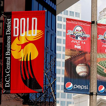 Light Pole Banners & Street Pole Banners